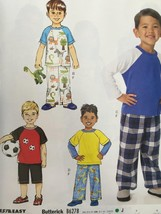 Butterick Sewing Pattern 6278 Toddlers/Childrens Top Shorts Pants Size 2... - $16.76