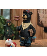 Bear with Hot Dogs Cooking Out For Father's Day - $17.95