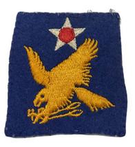 Original Wwii Usaaf U.S. Army 2nd Air Force Felt Black Mesh Back Patch No Glow - $23.28