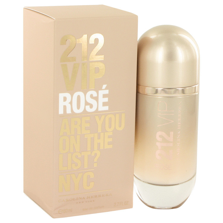 Carolina Herrera 212 VIP Rose 2.7 Oz Eau De Parfum Spray
