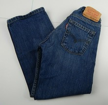 Levi's 505 Straight Leg Regular Fit Jeans for Boys - Adjustable Waistban... - $16.00