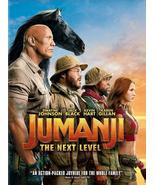 Jumanji:The Next Level DVD 2020 Brand New Sealed - $6.50