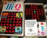 Hi-Q With Travel Kit 1972 Kohner Vintage Game