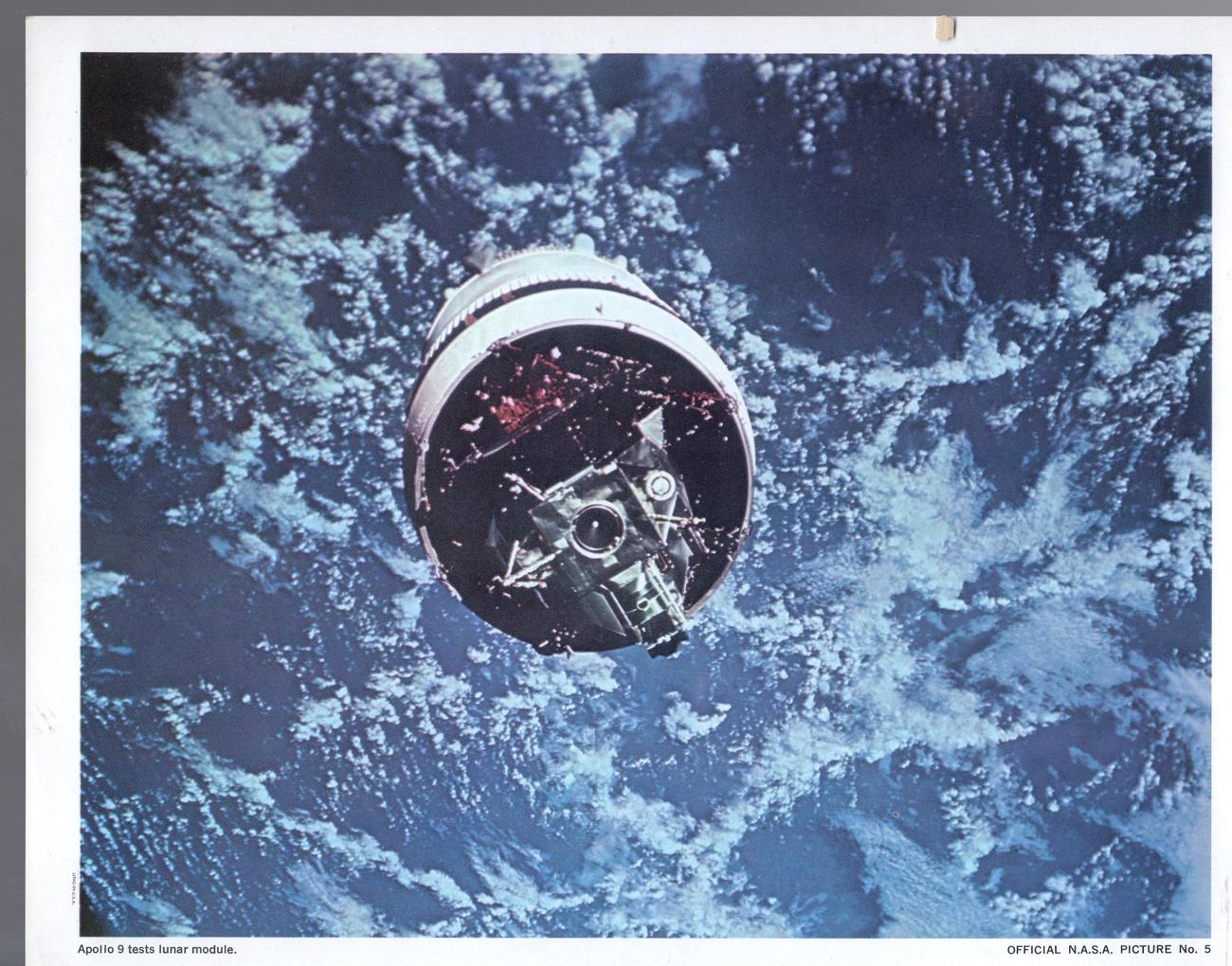 Primary image for NASA Photo #5 Apollo 9 tests Lunar Madule