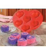 Heart-Shaped Cupcake Mold  Valentine's Day - $12.75