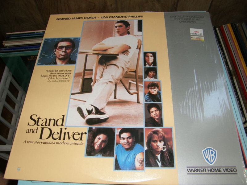 Stand and Deliver Laserdisc