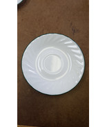 "Corelle by Corning Callaway Ivy Pattern  Saucer 6 1/4"" white swirl with ... - $2.99"