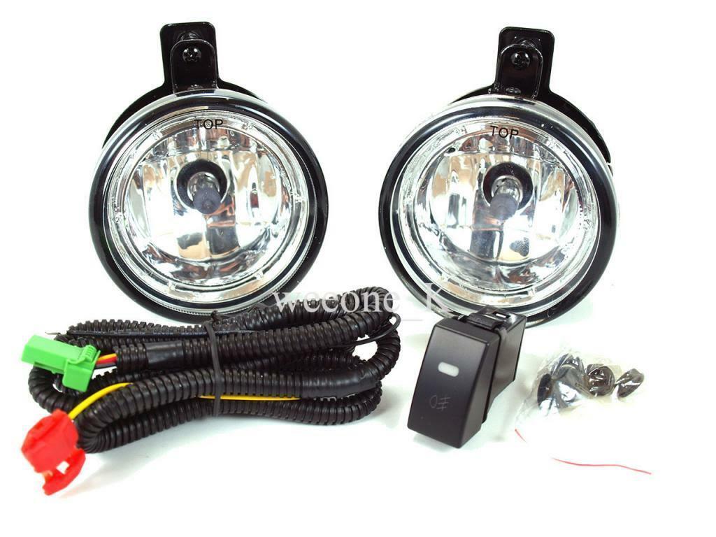 SPOT FOG LIGHT LAMP KIT FOR ISUZU DMAX HOLDEN RODEO PICKUP 2007 - 2011