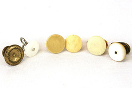Lot Of 6 Random Vintage Cufflinks - $6.26