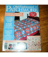 Old Fashioned Patchwork Magazine Spring 1989 Issue - $4.00