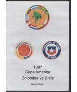 Copa America Colombia vs Chile Semi Final 1987 DVD - $28.42