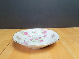 Theodore Haviland Delaware Fruit Dessert Bowl White with Pink Flowers US... - $6.92