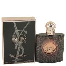 Yves Saint Laurent Black Opium Nuit Blanche Perfume 1.7 Oz Eau De Parfum Spray image 4