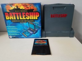 Electronic Battleship Advanced Mission (Milton Bradley - 2000) Talking Game  - $29.69