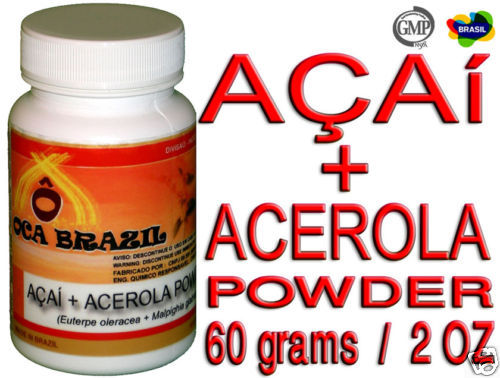 Primary image for Acai Powder with Acerola - Oca-Brazil - 02 OZ /  60 gr