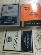 1973 gm cadillac deville fleetwood eldorado service workshop manual set ... - $149.54