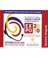 INTL CONTACT CENTER CONFERENCE EXPO 2010 Souvenir Program, Philippines - $4.95