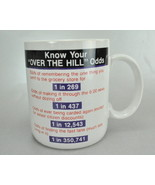 Hallmarks  Know Your Over the Hill Odds 8 Oz Coffee Mug Cup - $6.75