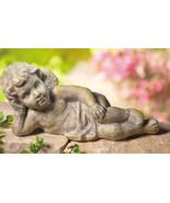 Resting Cherub Will Rest In Your Garden  New - $19.95