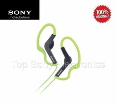 Sony MDRAS200 Green Active Sport In-Ear Headphones Earbuds - WATER RESIS... - $19.99