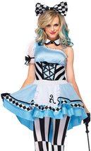 Leg Avenue Women's 3 Piece Psychedelic Alice Costume image 5