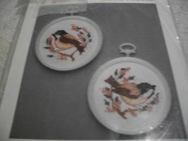 Chickadees Cross Stitch Kit - $10.00