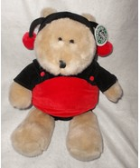 "Starbucks Bearista Bear 14th Edition Ladybug Large Plush Stuffed Animal 16"" - $39.57"