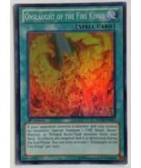 1st Edition Super Rare Onslaught of the Fire Kings YuGiOh Card SDOK-EN02... - $2.89