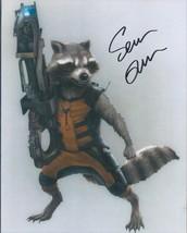 Sean Gunn signed Guardians Of The Galaxy Rocket Racoon. photo. Nice !! COA. - $23.95
