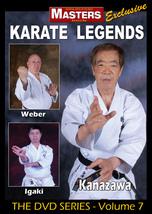 Karate Legends #7 Instruction DVD Kancho Kanazawa, Thomas Weber, Hidehar... - $29.95