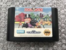 Sega Genesis Game Cartridge: Monopoly (Parker Brothers) - Authentic & Te... - $5.74