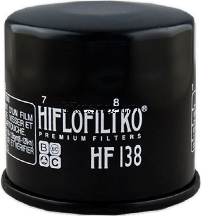 New HiFloFiltro HF138 Black Oil Filter for Aprillia Artic Cat Kymco Suzuki HiFlo