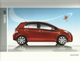 2009 Toyota YARIS sales brochure catalog 09 US S - $6.00