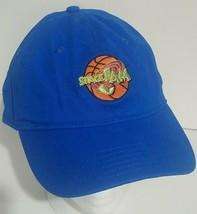 Looney Tunes Space Jam Baseball Cap Hat Royal Blue Strapback One Size Bugs Bunny - $14.54