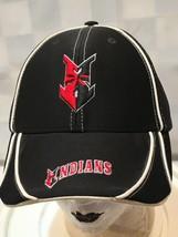 INDIANS Arrow Logo Minor League Adjustable Adult Baseball Ball Cap Hat - $13.41