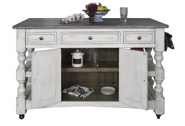 Julia Solid Wood Kitchen Island - $1,381.05