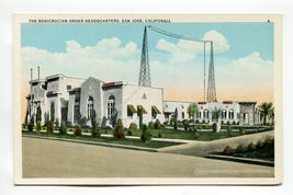 An item in the Collectibles category: The Rosicrucian Order Headquarters San Jose California