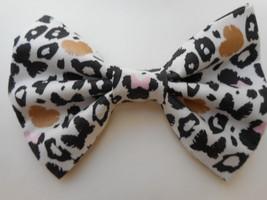 Minnie Leopard Big Bow Barrette - $8.00