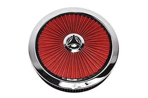 A-Team Performance High Flow Replacement Air Cleaner Assembly w/Flow-Thru Lid Wa