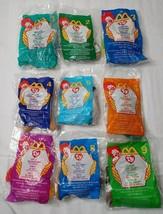 McDonald's VTG Mini TY Beanie Baby Set of 1-9 - Stuffed/Plush Beanie Ani... - $19.80