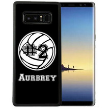 Personalized Case Fits Samsung Note 9 7 5 4 Volleyball Sports Girls - $13.98