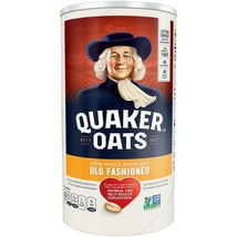 -6 Quaker Old Fashioned Oatmeal l 18 oz Each (6 Included) - $49.50