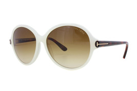 NEW Tom Ford FT0343-20F TF 343 Milena Pearl Havana / Brown Sunglasses (NO CASE) - $116.97