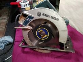 "Black & Decker Model 7359 7.25"" Corded 2-1/3 HP Circular Saw - Works Great - $20.99"