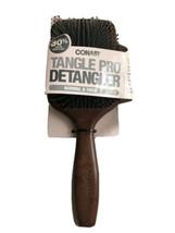 Conair Tangle Pro Detangler Wood Paddle Hair Brush Normal And Thick Hair... - $7.91
