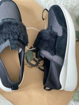 New UGG PICO BLACK SHEEPSKIN FASHION SNEAKER WOMEN SHOES SZ 10 1101012 S... - $59.40