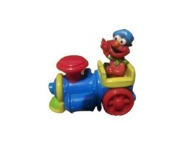 "Vintage 1998 Tyco ~ Elmo on Train Toy 2.5"" ~ Jim Henson Company ~ Metal - $4.94"