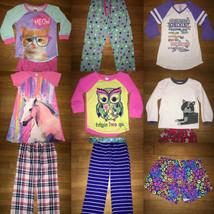 * build your own huge lot of girls pj pajamas GAP old navy childrens pla... - $2.97+