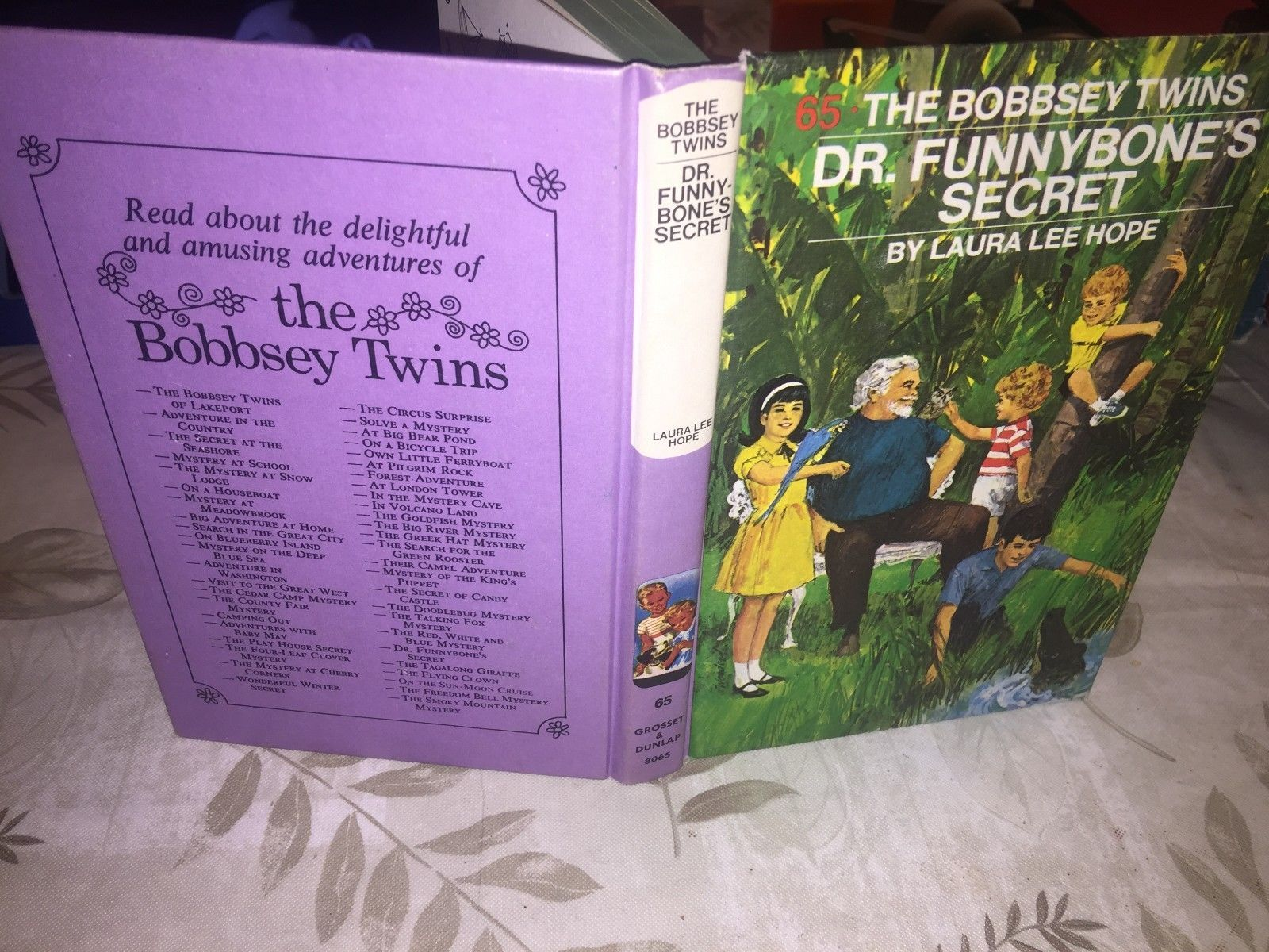 Bobbsey Twins Books, Laura Lee Hope - #65-1972
