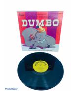 "Walt Disney Dumbo 1959 Elephant lp 33 rpm record book vinyl 12"" case cov... - $28.98"